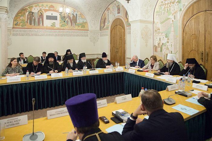 Состоялось первое заседание Оргкомитета XXVIII Международных Рождественских чтений