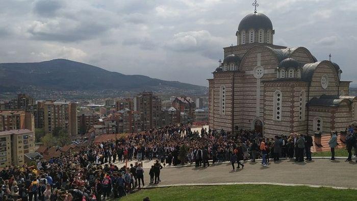 Визит Сербского Патриарха в Косовскую Митровицу