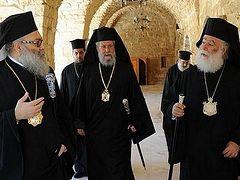 На Кипре проходит встреча четырех Предстоятелей по «украинскому вопросу»