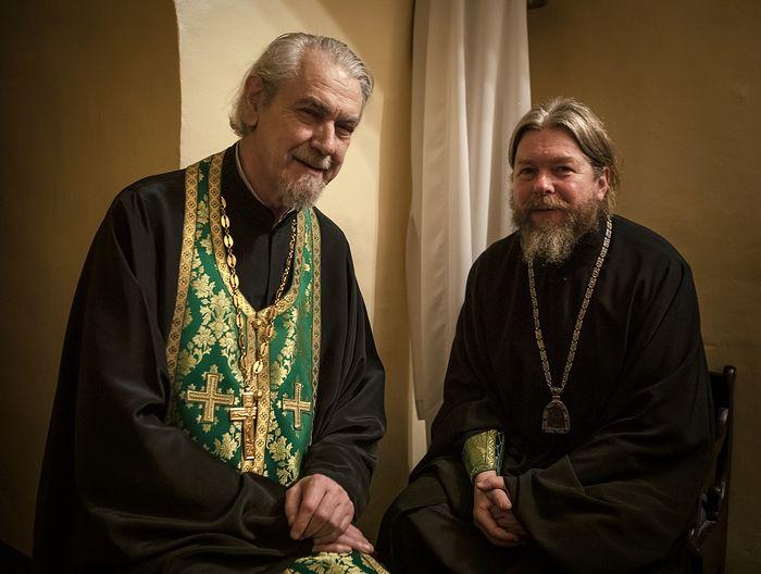Протоиерей Владимир Вигилянский и Митрополит Тихон (Шевкунов)