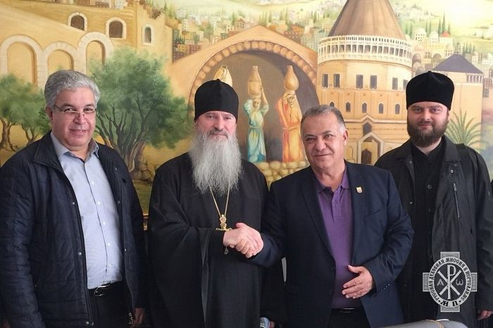 Планы развития участка Русской духовной миссии в Назарете обсудили в мэрии города