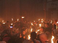 Holy Fire will be delivered to America for Pascha