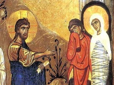 The Resurrection of Lazarus: Icons
