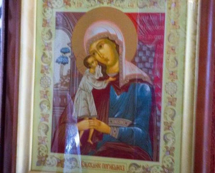Руска икона Пресвете Богородице Заступнице Страдалих