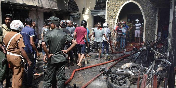На Шри-Ланке во время пасхальных торжеств прогремели восемь взрывов