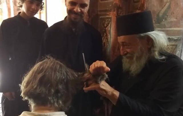 «Постриг» Ильи Авраменко