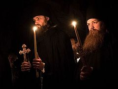 New monks tonsured at St. Tikhon's, Holy Trinity, St. Herman's Monasteries (+ VIDEO)