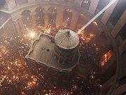 27 апреля Фонд Андрея Первозванного доставит в Москву Благодатный огонь