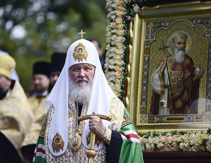 Патриjарх Кирил у Киjеву