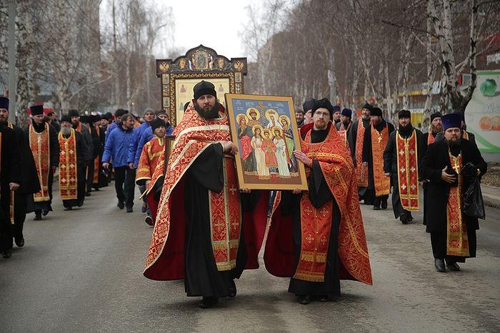 Крестный ход в память прибытия членов Царской семьи в Екатеринбург пройдет в уральской столице