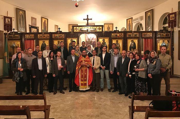 В Представительстве Русской Православной Церкви в Дамаске состоялось празднование Святой Пасхи