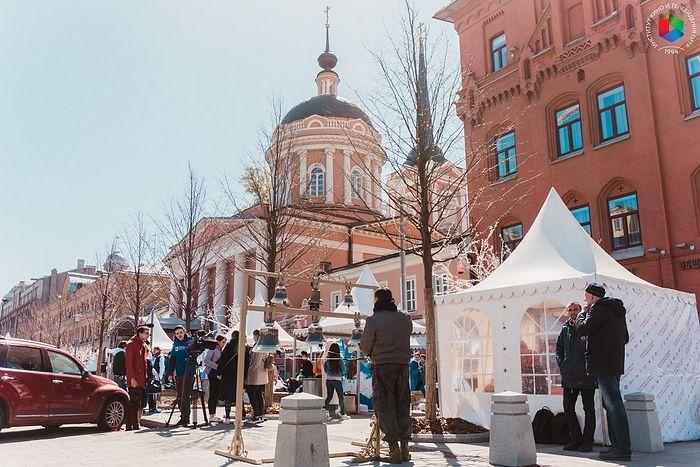 В центре Москвы прошел первый студенческий Пасхальный фестиваль