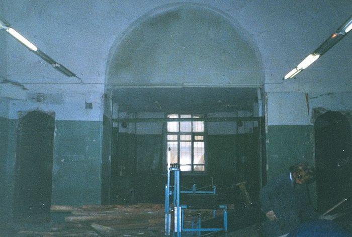 2-й этаж Покровского храма. 1997г.