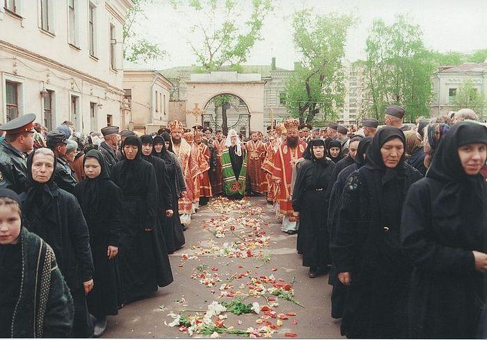 Встреча Святейшего Патриарха Алексия II. 2 мая 1999г.