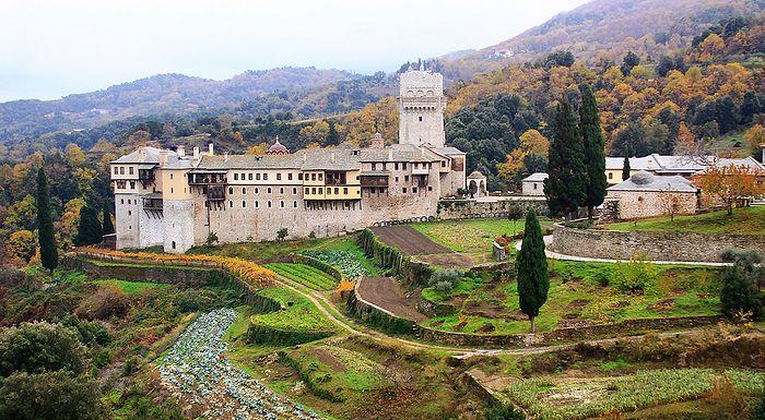 Монастырь Каракалл на Афоне