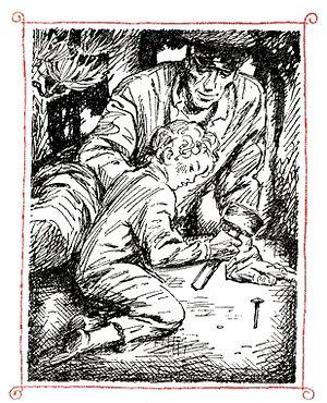 «Олёшин гвоздь», повесть Льва Кузьмина