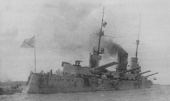 «Петропавловск» в 1916 году
