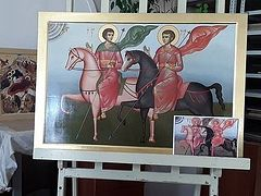New copy of 13th-century icon to be delivered to Syrian monastery from Kursk