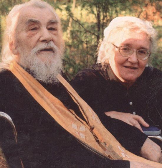 Архим. Иоанн (Крестьянкин) и Татьяна Сергеевна Смирнова