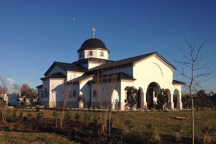 Фото - храм св. Саввы в Техасе