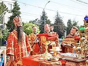 Архиепископ Винницкий Варсонофий совершил Литургию у стен захваченного сторонниками ПЦУ кафедрального собора Винницы