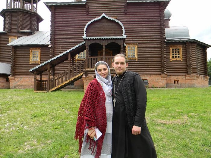 Fr. Dimitry with Matushka Sophia