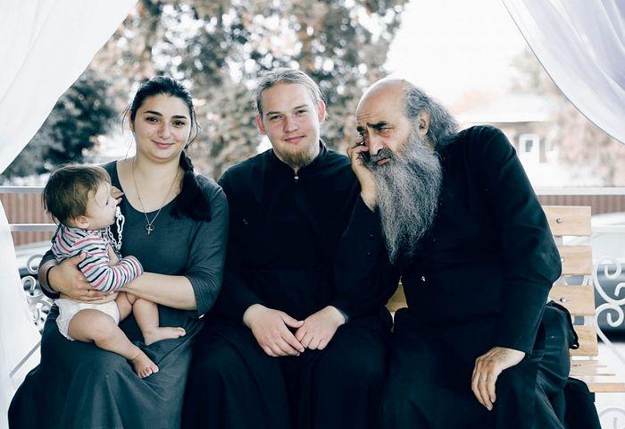 With Fr. Iliodor