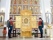На Донскую землю принесена главная икона Вооруженных сил России «Спас Нерукотворный»