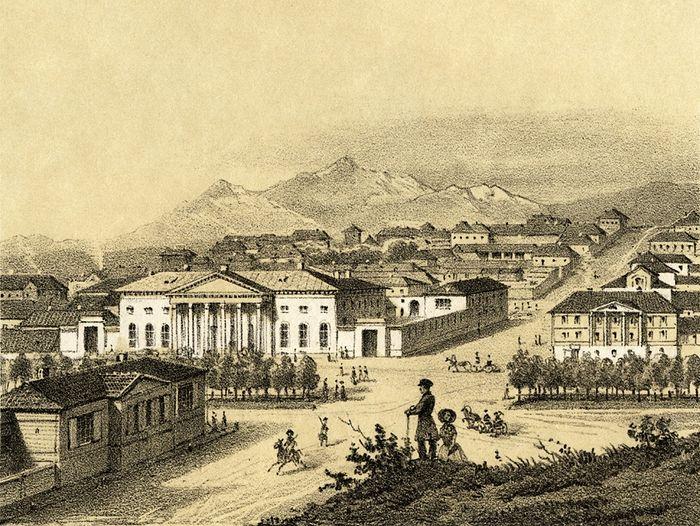 Пятигорск. 1840 г.