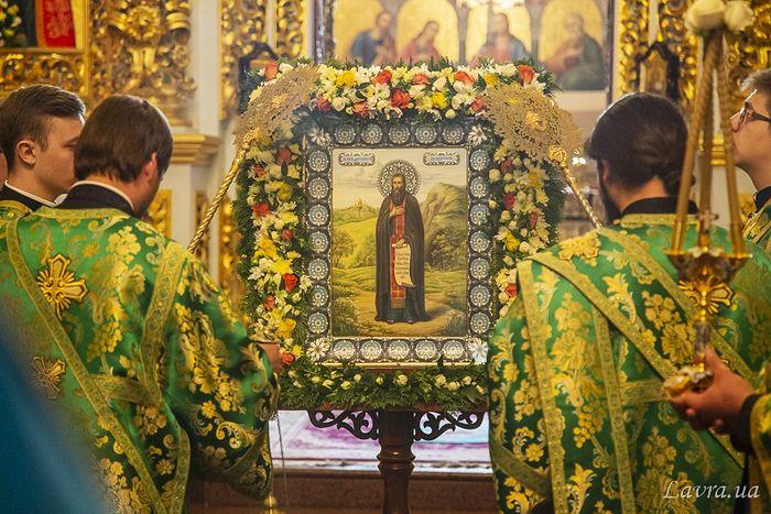 В Киево-Печерской лавре торжественно отпраздновали память преподобного Феодосия Печерского