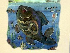 Illustrated book of Prophet Jonah published in Siberian Yakut language