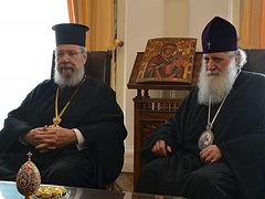 Archbishop of Cyprus visits primates of Serbia, Bulgaria, Greece to discuss Ukrainian problem