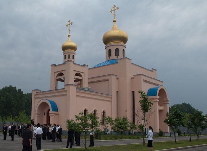 Храм Живоначальной Троицы в Пхеньяне. Фото: taday.ru/ И.Коновалов