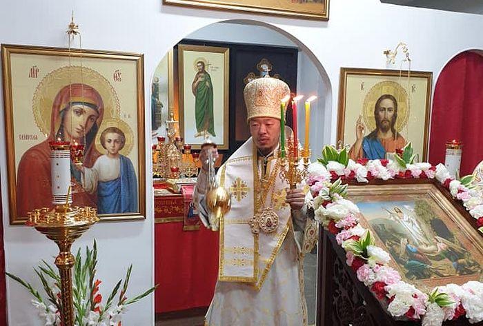 Архиепископ Корейский Феофан (Ким). Фото: https://www.facebook.com/OrthodoxChurchSeoul/