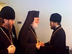 DECR chairman meets with Patriarch of Alexandria