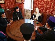 Святейший Патриарх Кирилл встретился с главой Американской архиепископии Антиохийского Патриархата