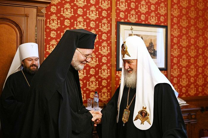Antiochian Archdiocese of N  America delegation serves with, visits