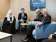 В Страсбурге состоялась встреча Святейшего Патриарха Кирилла с генеральным секретарем Совета Европы Турбьёрном Ягландом