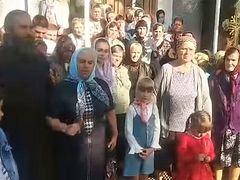 Community of seized Ukrainian church records video appeal to President Vladimir Zelensky (+ VIDEO)