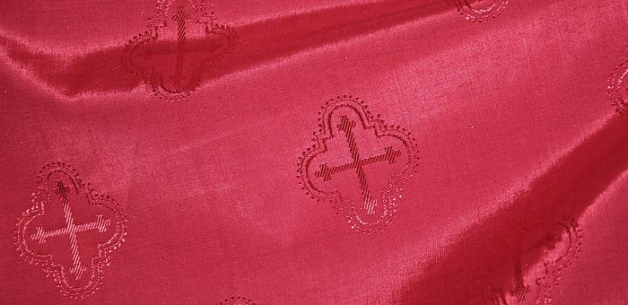 Подкладочная ткань со знаками Креста