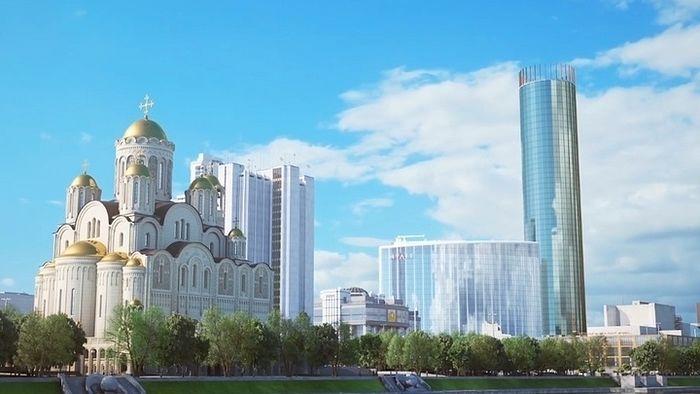 Проект храма Святой Екатерины. Фото: ekaterinburg-eparhia.ru