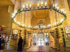 Church of St. John (Maximovitch) consecrated at St. Elizabeth's Monastery in Minsk
