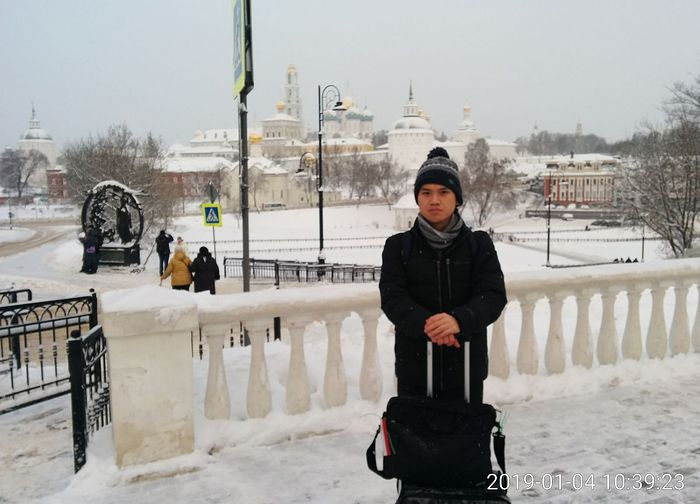 During the trip to the Holy Trinity—St. Sergius Lavra