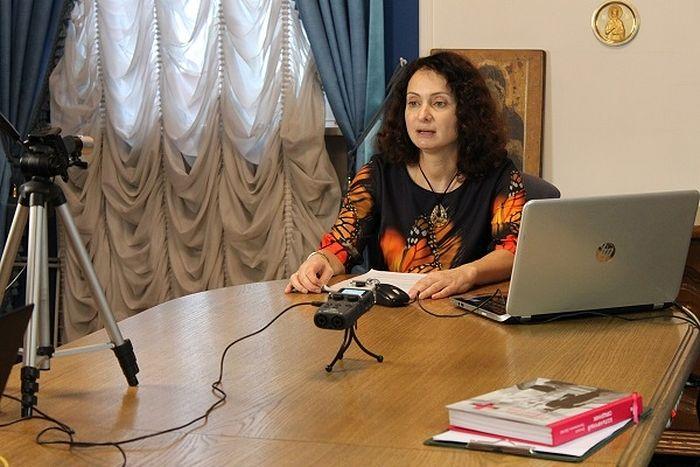 Руководитель направления помощи семьям Синодального отдела по благотворительности Екатерина Борисенкова