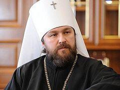 Митрополит Иларион в интервью Швейцарскому информационному агентству рассказал о положении Церкви на Украине