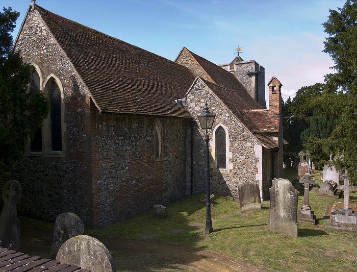 St Martin's Church, Canterbury, England. Photo: Wikipedia