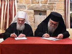 Respect for boundaries of Local Churches and dialogue is way out of current crisis—Antiochian and Serbian Patriarchs