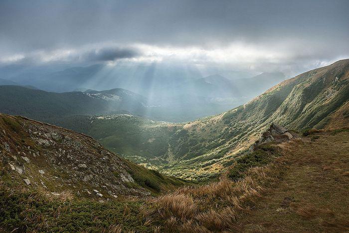 Mount Hoverla, Transcarpathia, Ukraine, Source: Wikipedia