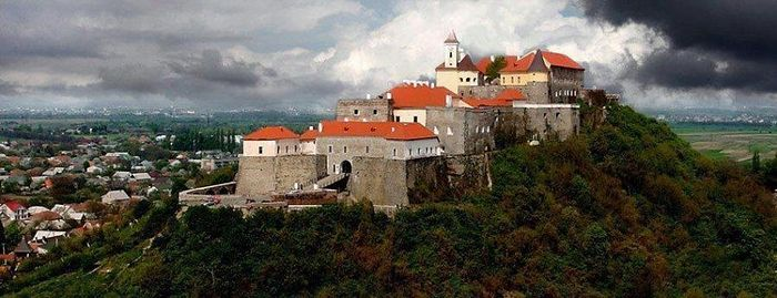 Palanok castle in Mukachevo Source: Reddit