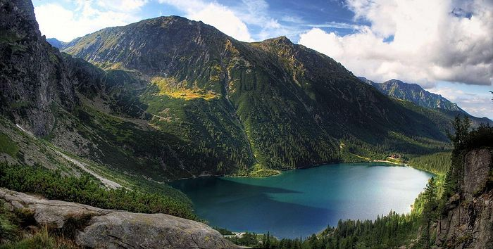 Morskie Oko Lake in the Tatra Mountains Source: http://filltrips.com